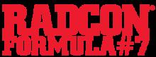 Radcon formula 7 logo